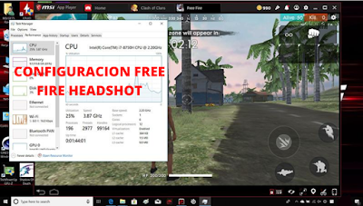 msi app player free fire headshot