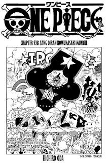 Update! Baca Manga One Piece Chapter 928 Full Sub Indo