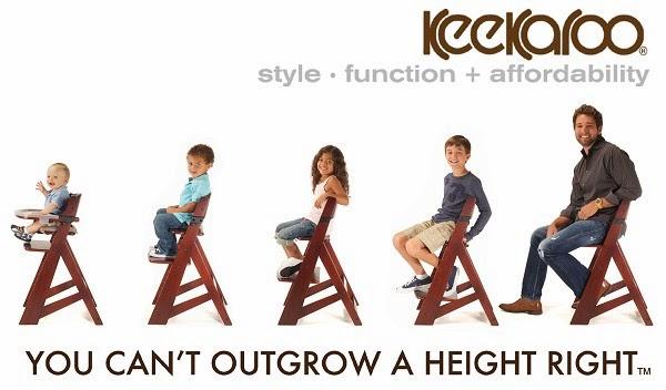 Keekaroo Height Right™ Kids Chair + Comfort Cushion Set # ...