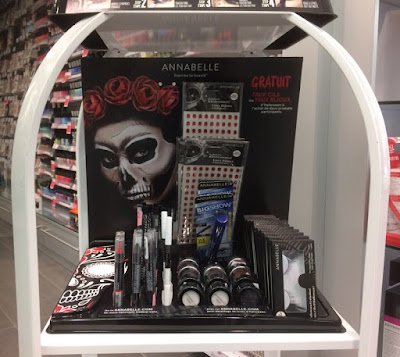 Idées maquillage halloween originaux annabelle candy skull