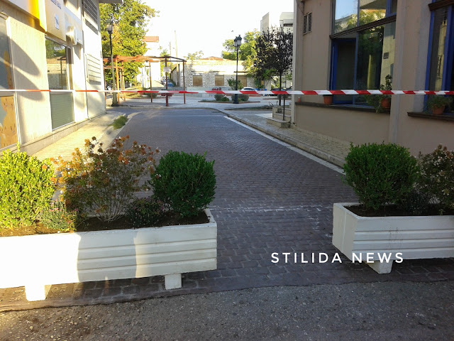 Εργασίες ανάπλασης και κυκλοφοριακών ρυθμίσεων στη πλατεία εθνικής αντίστασης του Δήμου Στυλίδας.
