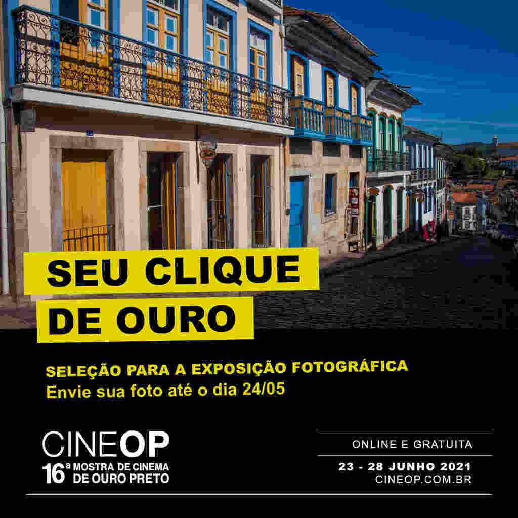 A CineOP – Mostra de Cinema de Ouro Preto chega a sua 16ª edição, de 23 a 28 de junho de 2021, em formato online e reafirma seu propósito como evento pioneiro no Brasil que coloca em foco a preservação audiovisual, a memória, a história e trata o cinema como patrimonio