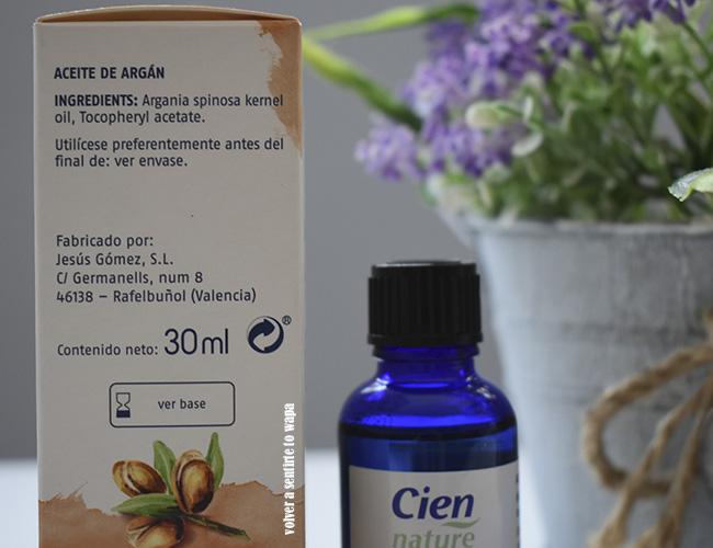Aceite de Argán puro de Lidl