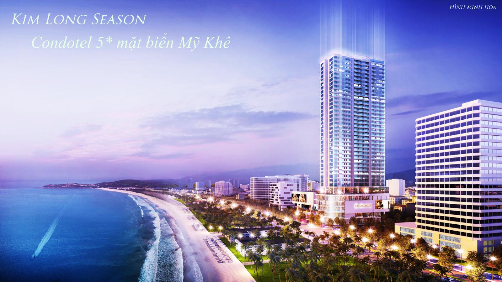 Kim Long Season - Condotel 5* mặt biển Mỹ Khê