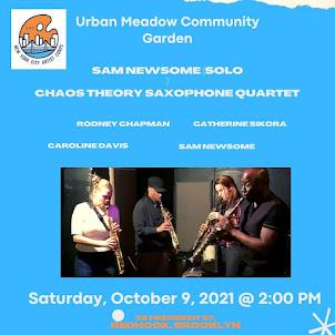 Sam Newsome (solo) & Chaos Theory Sax Quartet