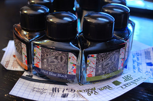 Diamine 150th Anniversary Inks Overview