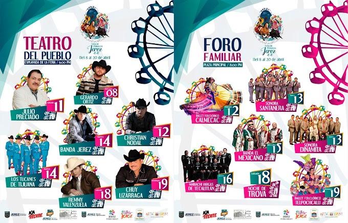 CANCELADA Feria de Jerez Zacatecas 2020 feria de primavera