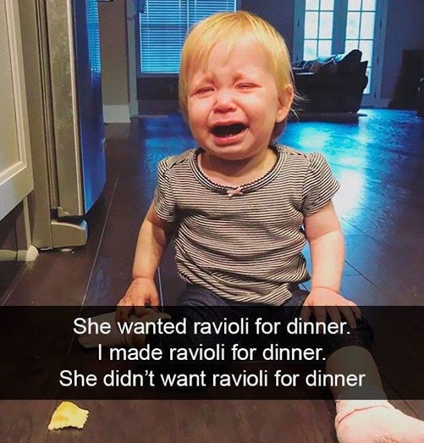 """""""Why is your kid crying?"""" (40 Pics)"""