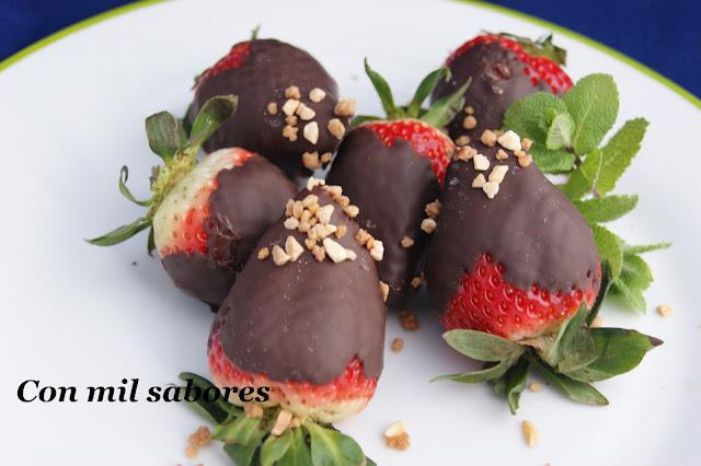 Fresas Chocolateadas (dia De La Fresa)