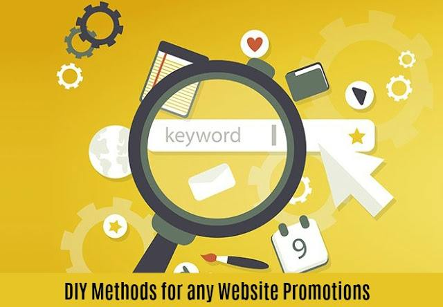 DIY Methods for any Website Promotions