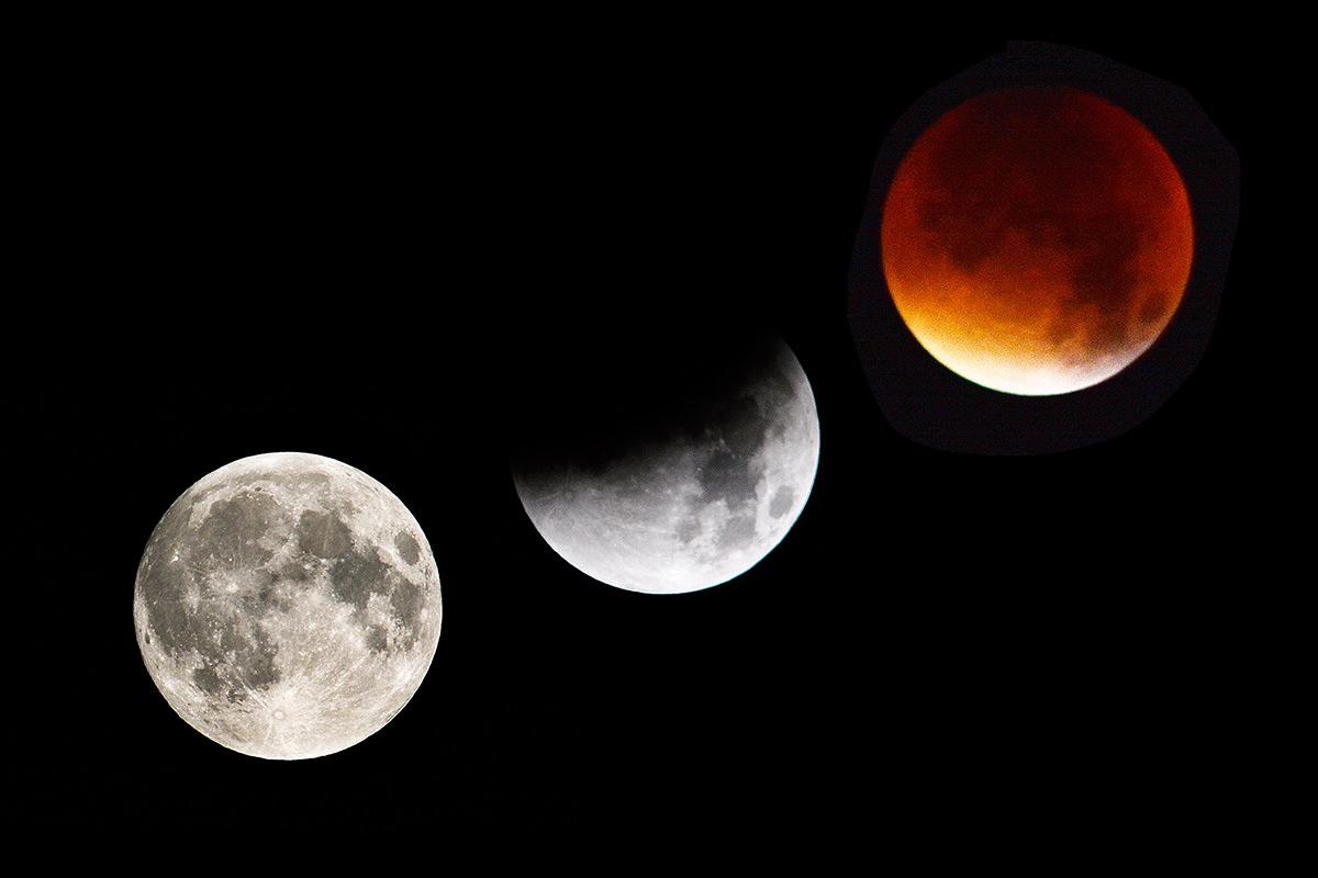 Gerhana Bulan Total Bisa Dilihat Di Negara Arab Ini
