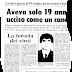 6 febbraio 1980: Fioravanti e Vale uccidono l'agente Arnesano