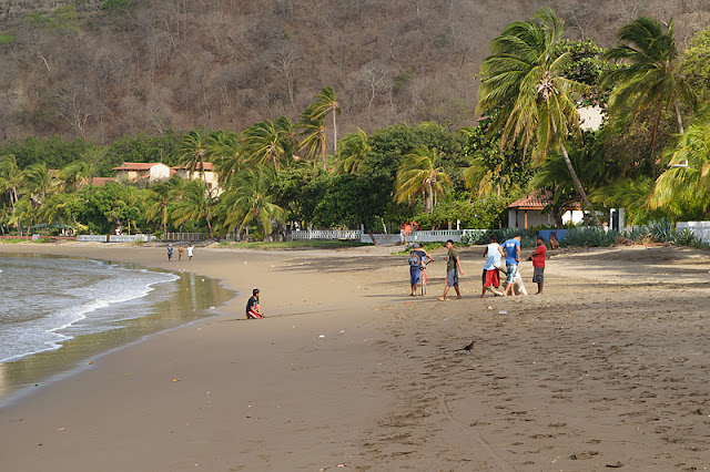 La plage à San Juan del Sur