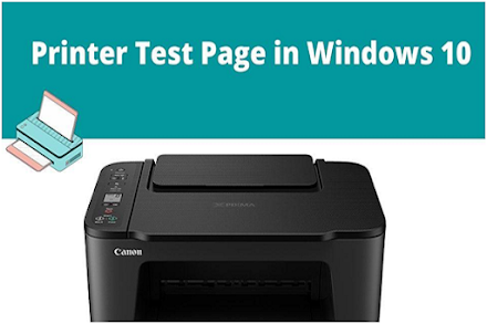 How to Print a Printer Test Page in Windows 10?