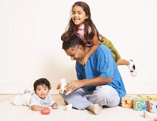 Enjoying play as family