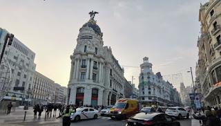 Edificio Metrópolis, Gran Vía de Madrid.
