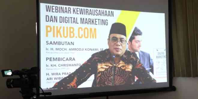 Gebrakan Webinar Digital Marketing LDII Jatim