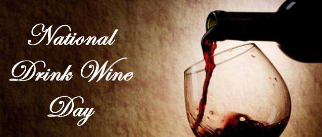 National Drink Wine Day Wishes Photos