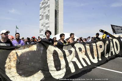 Resultado de imagem para corrupçao no brasil