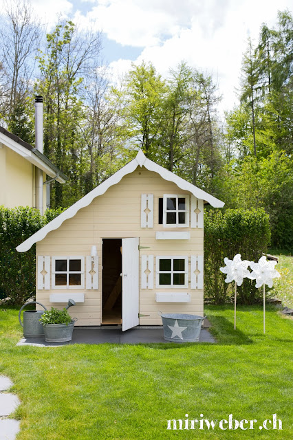 Kinderspielhaus Tom, Spielhaus Palmako, DIY Blog, Kreativblog, Blog aus der Schweiz