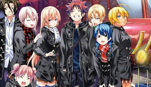 Download OST Opening Ending Anime Shokugeki no Souma: San no Sara - Toutsuki Ressha-hen Full Version
