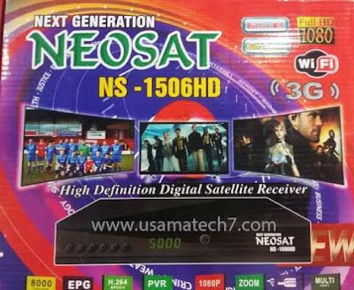NEOSAT NS-1506HD New Software