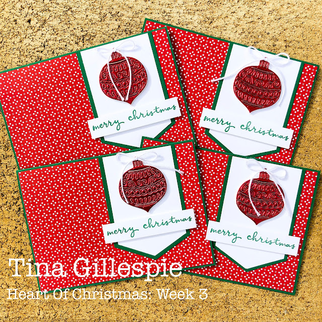 scissorspapercard, Stampin' Up!, Heart Of Christmas, Heartwarming Hugs DSP, Christmas To Remember, Gingerbread Dies, Sheetload Of Cards, Christmas Card