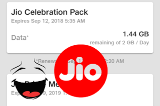 Jio Celebrations Offer 8 GB Data Free