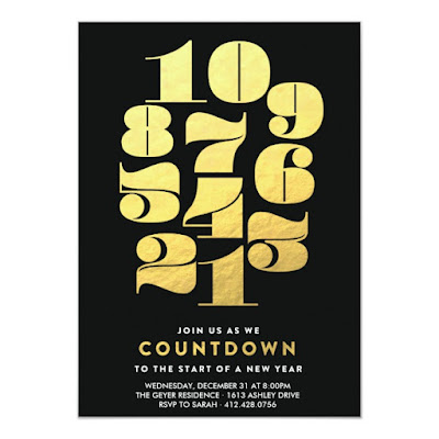 Countdown - New Year's Eve Party Invitation