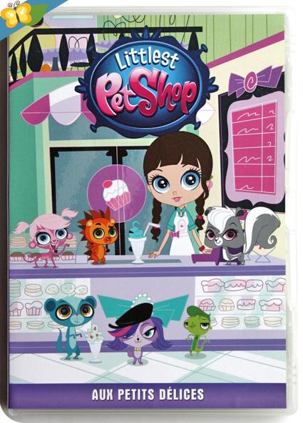 DVD Littlest Petshop - Aux petits délices