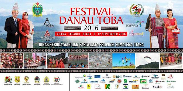 Jadwal Kegiatan Festival Danau Toba 2016