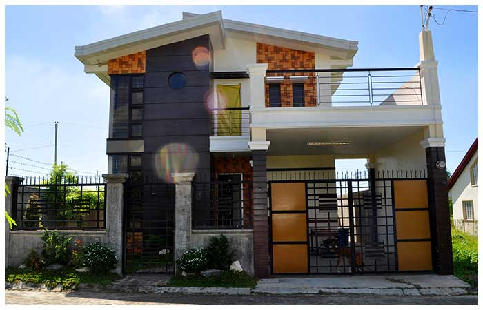 villa 10 - 16+ Low Cost Small Two Storey House Design Philippines Images