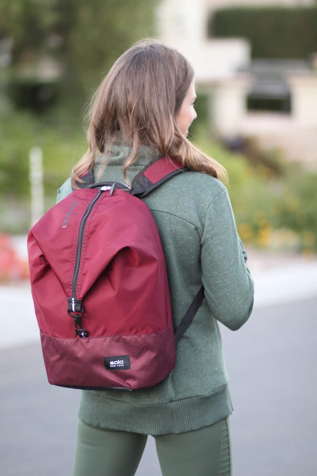 solo new york varsity backpack