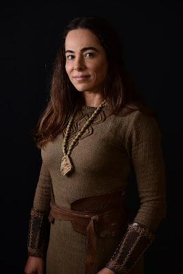 Atriz disse que se sente honrada por interpretar uma mulher forte como a personagem na nova superprodução da RecordTV - Crédito da foto: Blad Meneghel/ Record TV