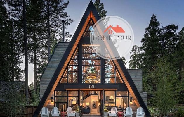 ΞΕΧΩΡΙΣΤΑ ΣΠΙΤΙΑ: Το ... Γυάλινο σπίτι στο δάσος