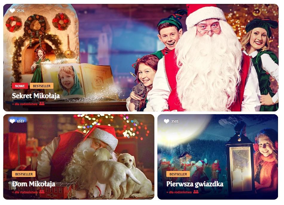 Elfi - personalizowany film od Świętego Mikołaja dla Twoich dzieci