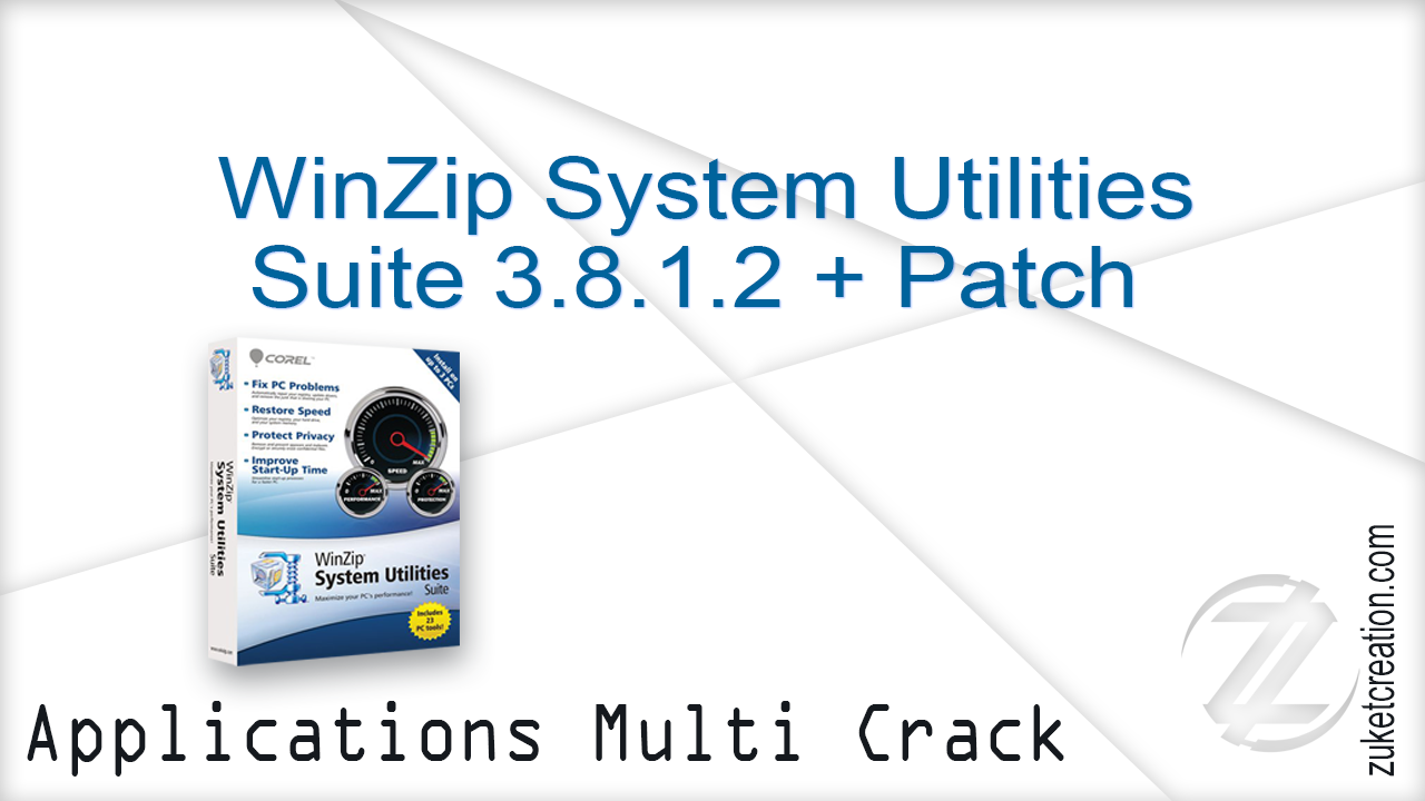 WinZip System Utilities Suite 3.8.1.2 + Patch