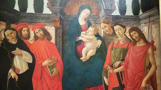 Botticelli - une vierge à l'enfant