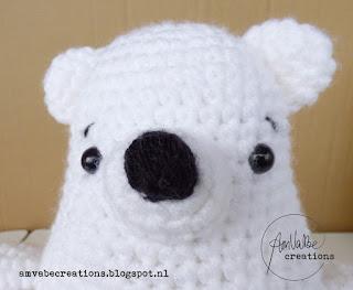Crochet Amigurumi Polar Bear