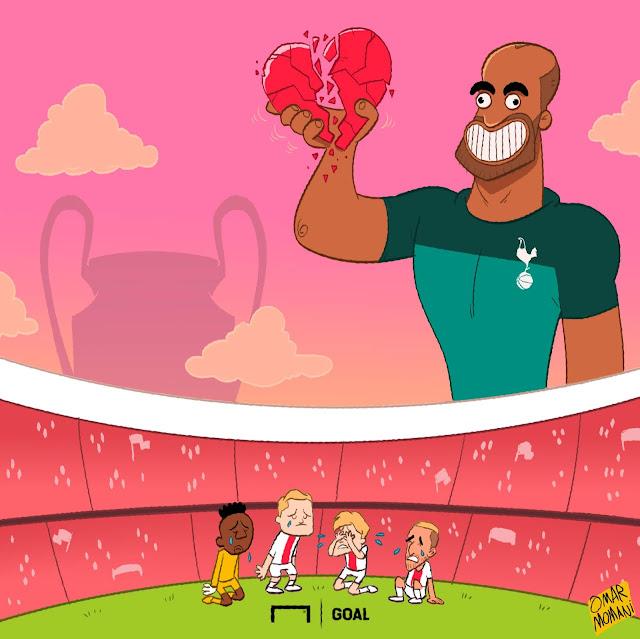 Lucas Moura Spurs Goals: Omar Momani Cartoons: Tottenham