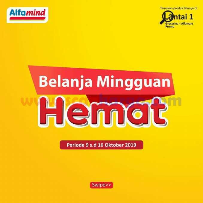 Promo Alfamind Katalog Belanja Mingguan Hemat 9 - 16 Oktober 2019