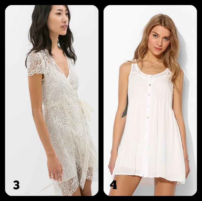 ideas de qué llevar en verano vestido blanco
