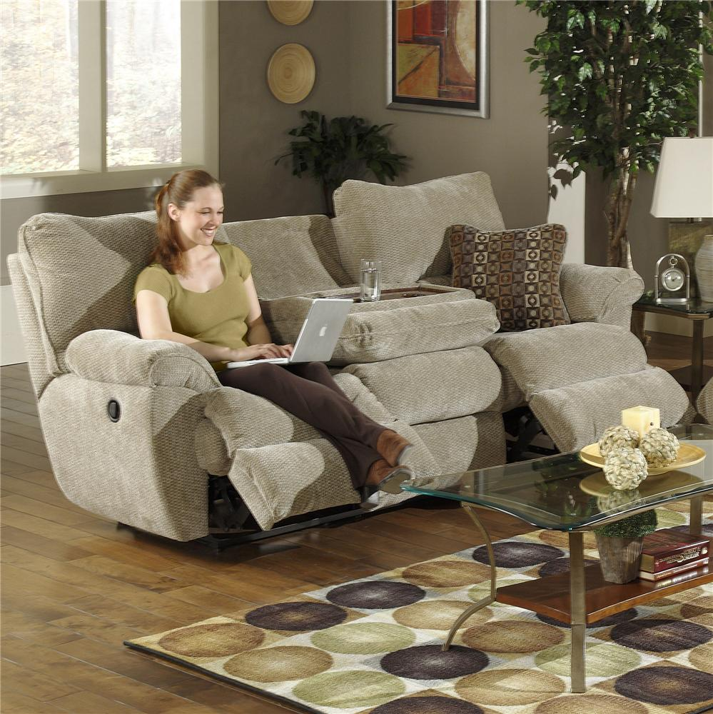 Knoxville Wholesale Furniture Catnapper Madison Reclining Sofa With