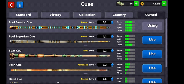 Fanatic Cue8 ball pool