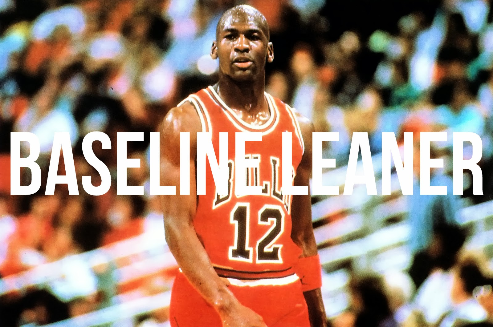 36e24acda32 On this day, Michael Jordan left his jersey at home and was forced to rock  the Rick Adelman throwback. Posted by Baseline Leaner ...