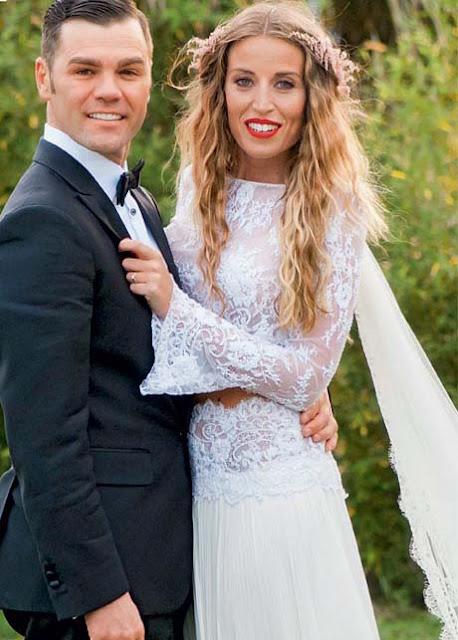 La exclusiva boda de Fonsi Nieto y Marta Castro