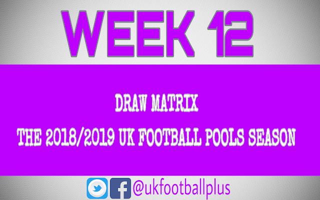 WEEK 12: UK FOOTBALL POOLS | 29-09-2018 | www.ukfootballplus.com.ng