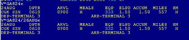 Cara Cek Detail Informasi Penerbangan di Sabre