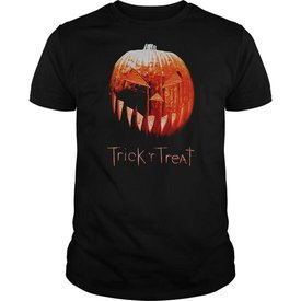 trick r treat special pumpkin design