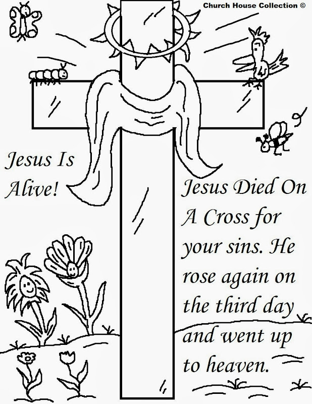Coloring Pages For Easter Christian
